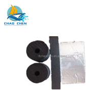 Low heat conductivity Black foam rubber pipe insulation price