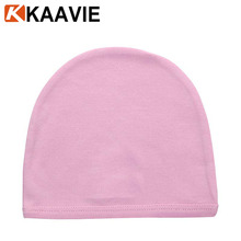 Guangzhou hats factory wholesale winter warm solid color soft cotton baby beanie