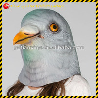 Pigeons/Costumes/Disguises/Halloween/Birds/Aviary/Doves/Latex/Animals/Weird Mask