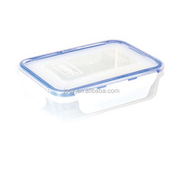 High quality promotional plastic vacuum lock food container airtight food container