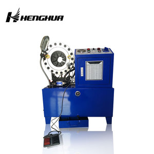 CE Certified High Pressure Finn Power Hose Fitting Crimper Used Hydraulic Hose Crimping Machine with factory price