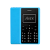 Original Unlock 2G Aiek X7 Mini Card Mobile Phone with 8GB TF Card and Supporting MP3