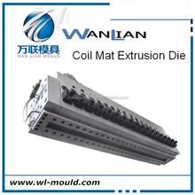 pillar with empty hole & soft feeling matress / coil mat sheet moulds sheet die