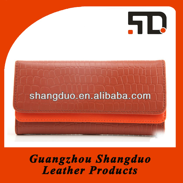 Customizable Fashionable Lady Leather Clutches and Purses