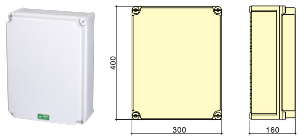 industrial socket combination power box, IP67 IP44 European power panel distribution box