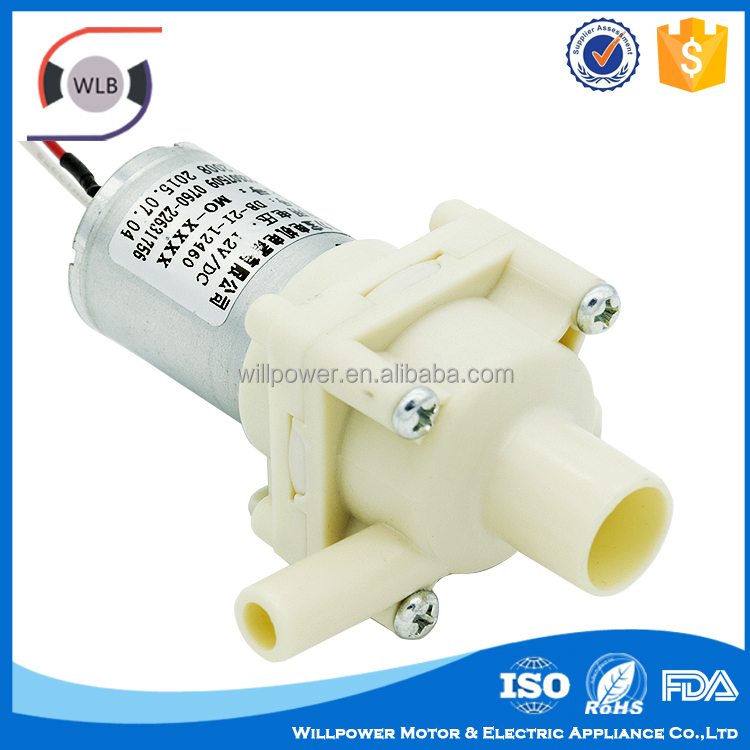 Willpower Electric mini diaphragm pump food grade water pumps for hot sale