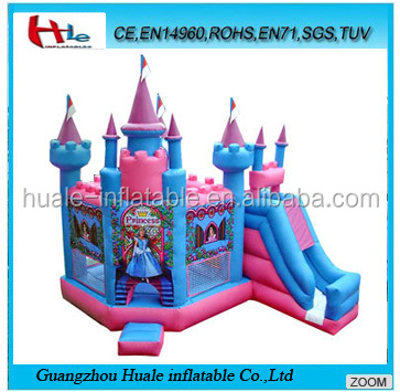 Inflatable princess castle combo,inflatable bouncy castle