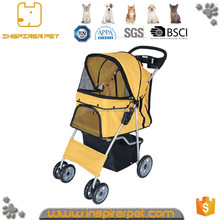 Perfect portable useful aluminum dog trolley