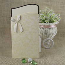 Cheap Wholesale Personalized Fashionable Pocket Wedding Invitation <strong>Cards</strong>