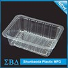 Food Pvc Plastic Blister Tray Clear