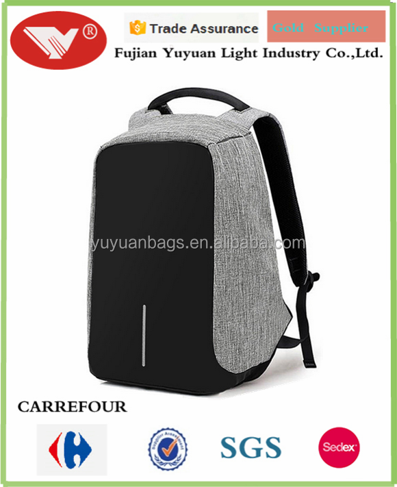 anti theft Laptop backpack with USB charging port backpack