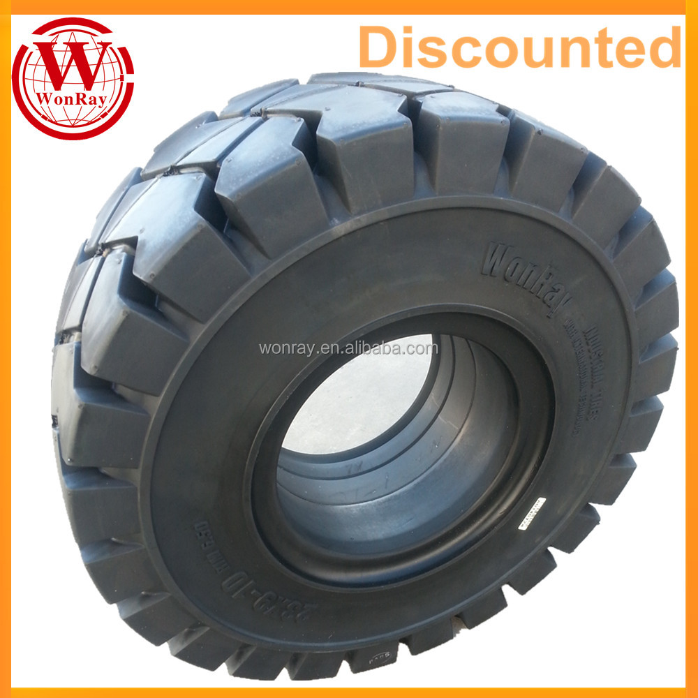 High Quality 28x12.5-15 Solid Industrial Tire For Linde E40P-600HL Forklift