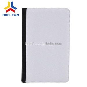Hot selling leather wallet phone cover blank sublimation for Ipad mini1/2/3