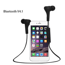Stylish anti-fall super bass mp3 sport headphone with sponge cover