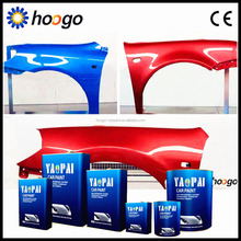 2K high quality 10 minute quick dry clear coat for car