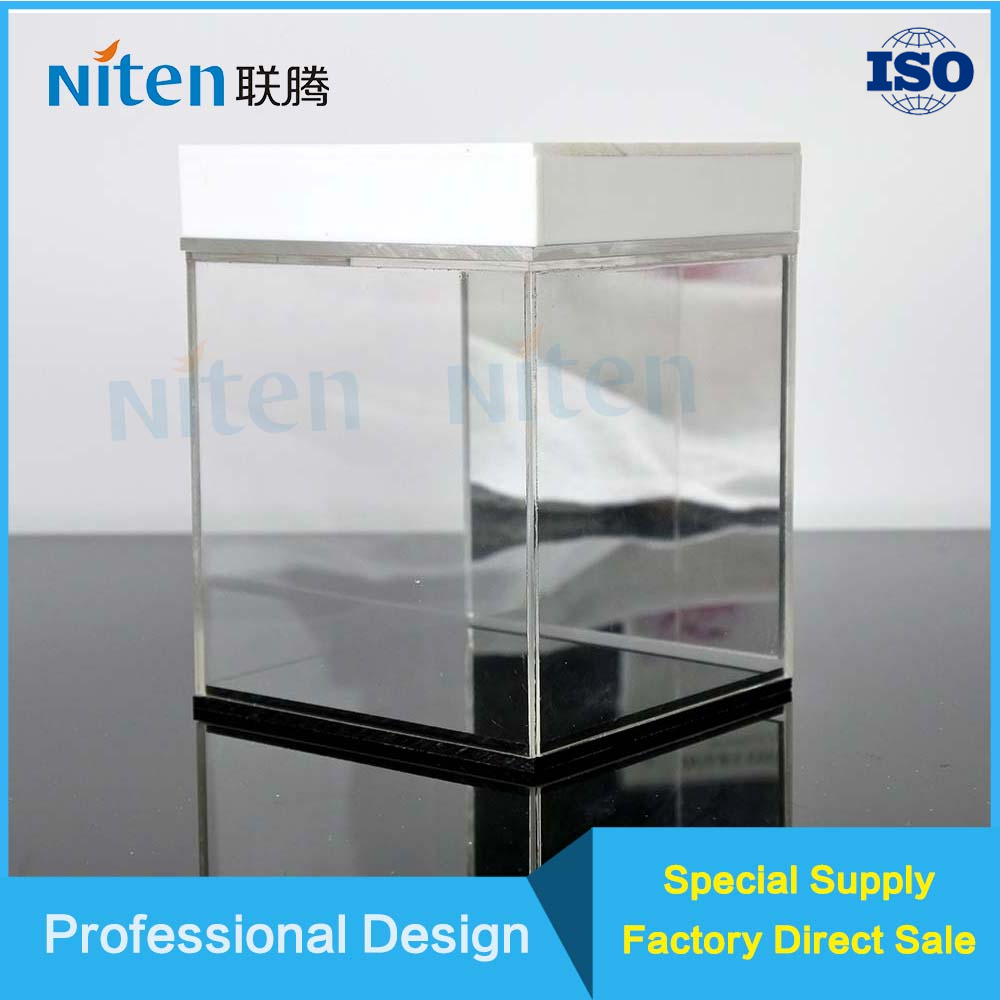 Custom Clear Acrylic/Plastic Container Dustproof Protection Acrylic Shoe Display Box Storage Case With Led Light
