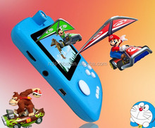 3.0 inch 1GB Pocket game player PMP-6 with1000 funny games portable video game console