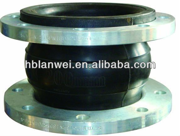 high pressure rubber expansion Joint with flange