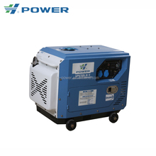4.8kw smallest electric start low rpm silent diesel generator HP6700LN-X