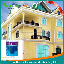Han's White interior wall and exterior wall paint decoration paint for building painting