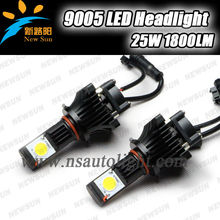 2013 Latest New 2PCS 9005 C ree Led headlight ,DC 12V-24V COB Led automotive lamp, 9005 motorcycle fog lights led