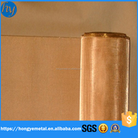 Brass Woven Wire Mesh Screen/ Copper Mesh Filtering Cloth/Brass Wire Mesh
