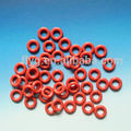 Red Elastic High Quality Conductive Rubber O-ring