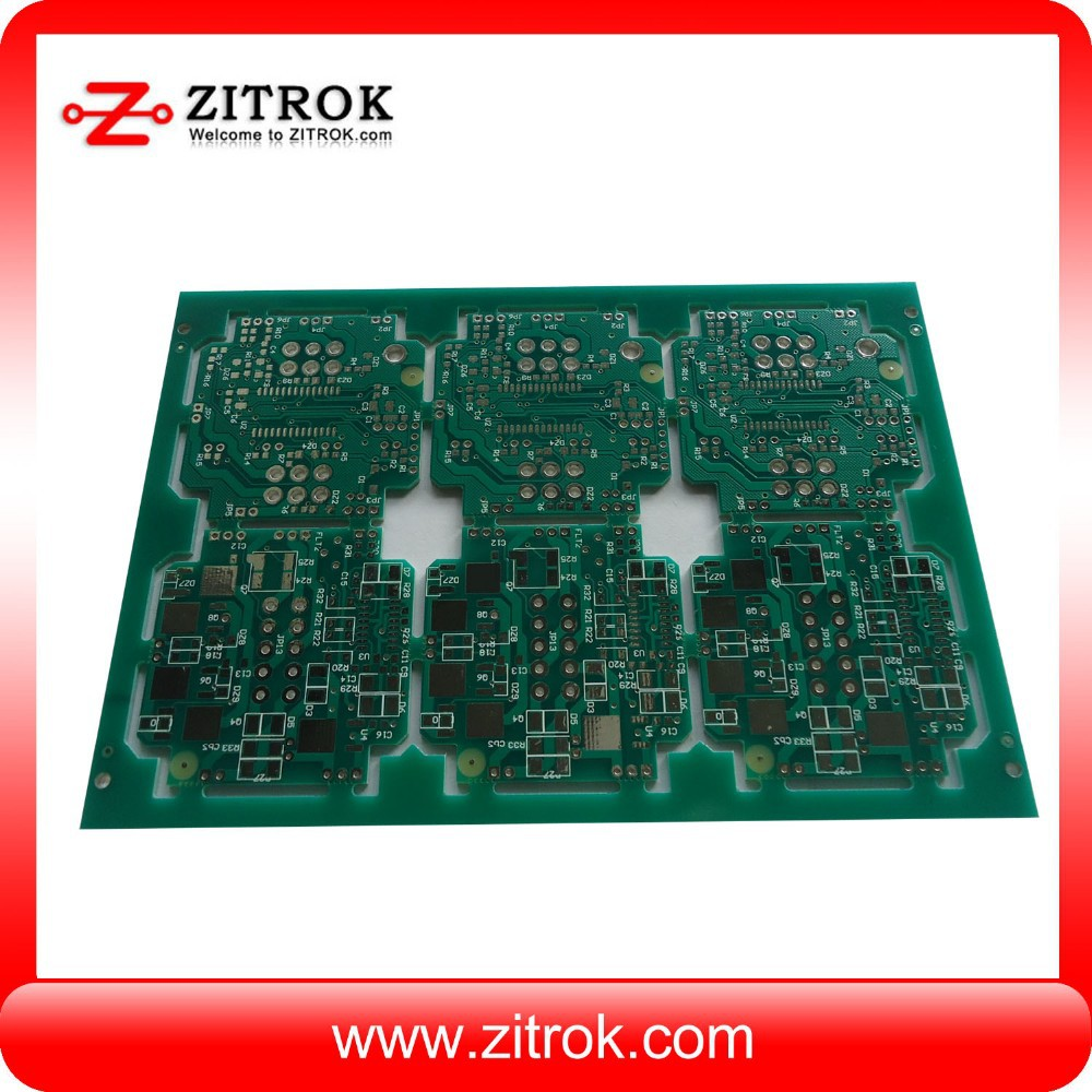 cell phone pcb with copper plugged vias special treatment andUL Mark