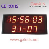 alibaba 2.3inch programmable automatic calendar digital time clock