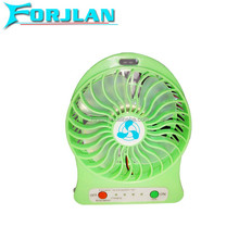 many colors can choose portable rechargeable mini usb fan factory price with 18650 battery