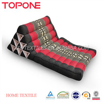 China supplies triangle custom indian backrest floor cushion
