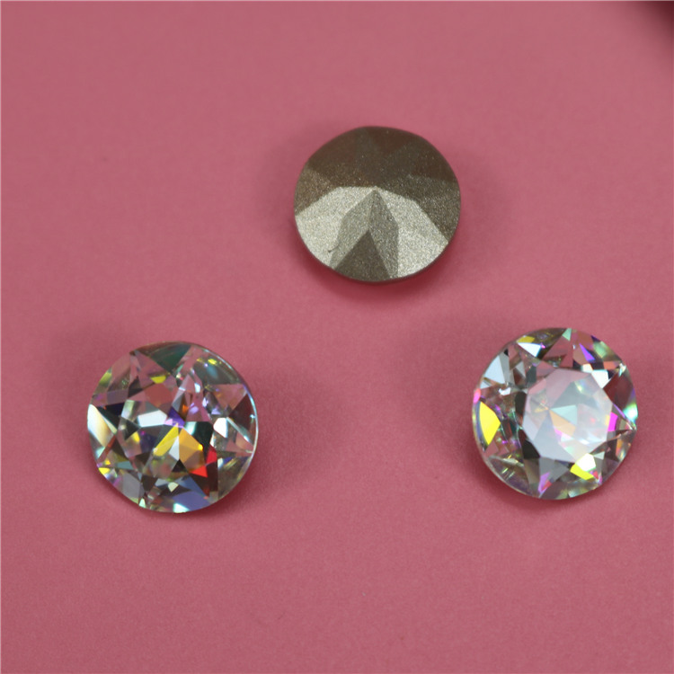 Top quality Wholesale loose pointback crystal stones for clothing