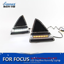 Smrke Manufacturer LED drl for FordFocus drl 2012-2015 with turning signalfocus Daytime Running Light Fog Light Accessories