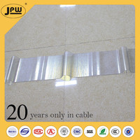 Perfect service top level glazed fiber glass roof tile for room