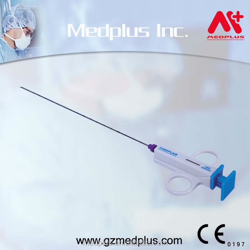 16Ga Semi-automatic Biopsy Gun For Breast