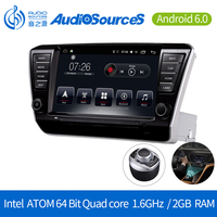 9 inch android Mirror Link Full Touch Screen 2 Din multimedia GPS VW Stereo Car Radio with skoda