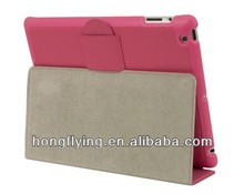 leather case /Pu case /Genuine case skinny for iPad (2nd, 3rd & 4th gen