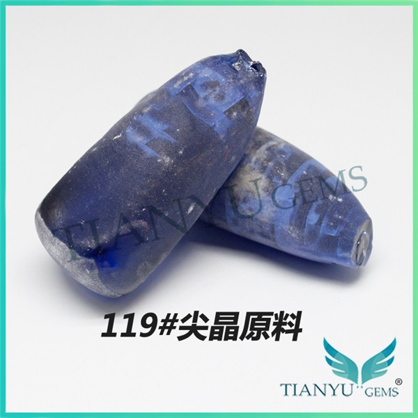 Best factory price raw material 119# spinel rough sapphire stone