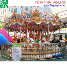 Hot selling fairground carousel ride electric whirligig merry-go-round