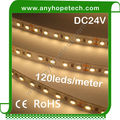 Alibaba new products 24v 120leds per meter flexible led vertical strip