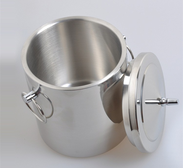 3L Popular stainless steel large ice Champagne bucket for parties