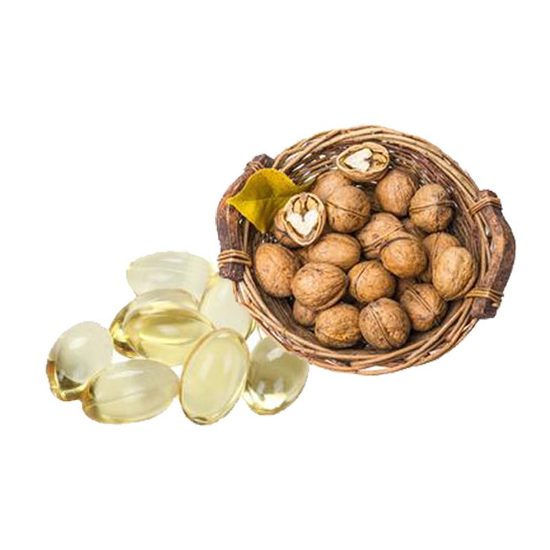 GMP Certificated 100% pure walnut oil softgel capsule