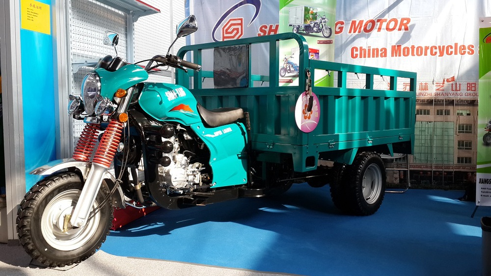 200cc gas tricycle three wheel truck cargo tricycle (SY200ZH-B5)