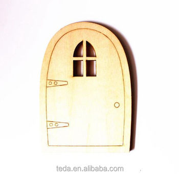 funny laser cut wood door christmas ornaments