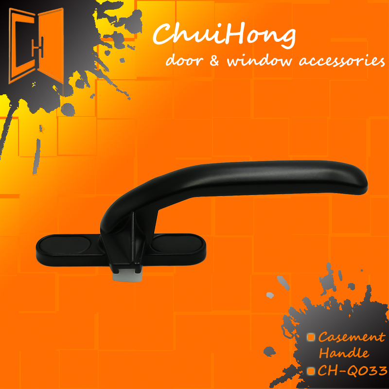 China factory hardware of die cast zinc casement window handle