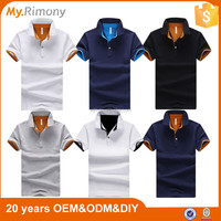 Colorful new designs polo t shirt factory