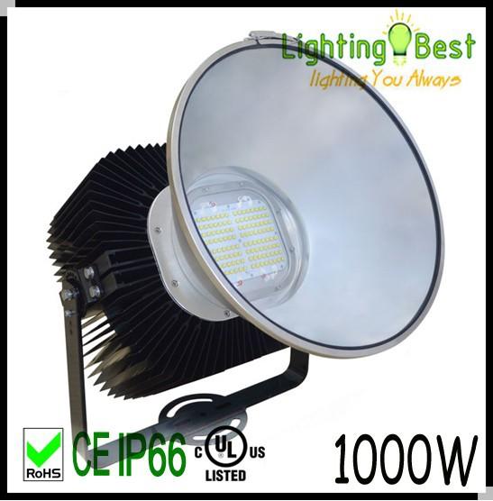 Outdoor 400w 500w 1000w Ul Led Projector High Mast Light