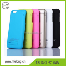 Battery Case Factory for iPhone Case Battery Bank 5 5S 5C 6 6 Plus 4 4S Portabl Power Charger Cover Many Designs
