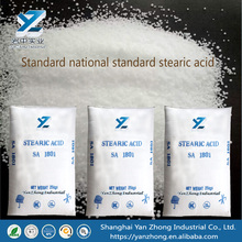 Sealed stearic acid for the food industry