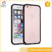 SBR factory price tpu pc material for hard phone case hot selling black mobile phone case for iphone 5
